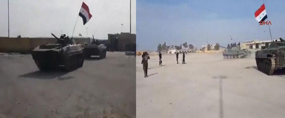 Afrin'de provokasyon tutmadı
