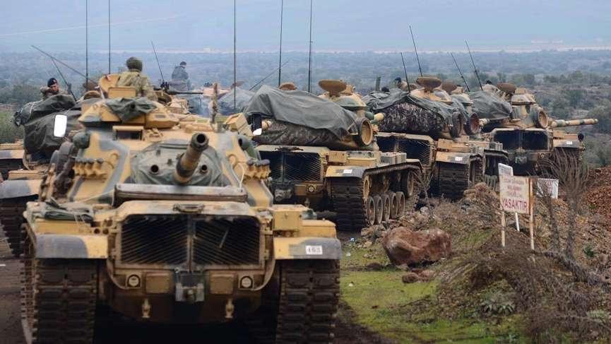 Harekatta 17 kilometre derinliği ulaşıldı, Afrin'e 15 kilometre kaldı