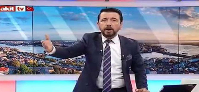 AKİT TV spikeri istifa etti