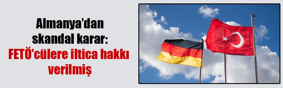 Almanya'dan skandal karar: FETÖ'cülere iltica hakkı verilmiş