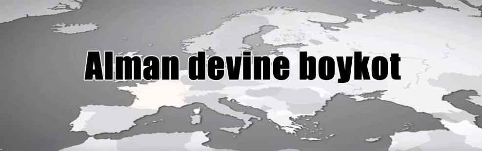 Alman devine boykot