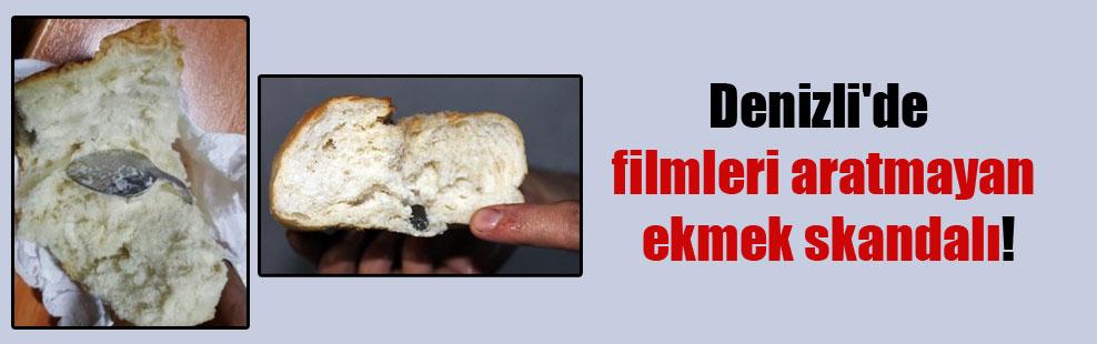 Denizli'de filmleri aratmayan ekmek skandalı!
