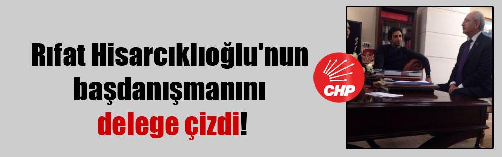 Rıfat Hisarcıklıoğlu'nun başdanışmanını delege çizdi!