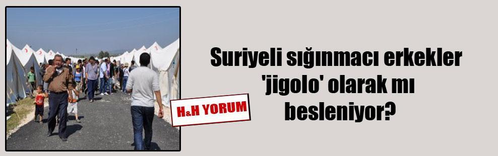 Suriyeli sığınmacı erkekler 'jigolo' olarak mı besleniyor?