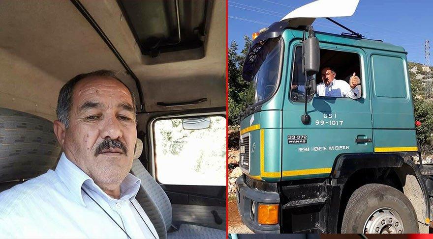 İdlib'te ağır yaralanan DSİ çalışanı Mahmut Pakyürek, şehit oldu