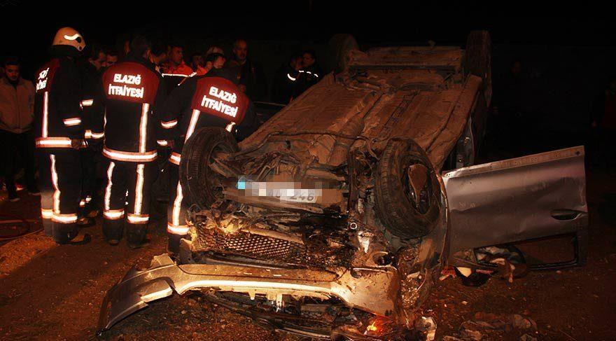 Polisler kaza yaptı: 1'i şehit 2 ölü!