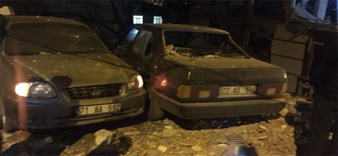 Kırıkkale'de patlama: 2'si ağır, 10 yaralı