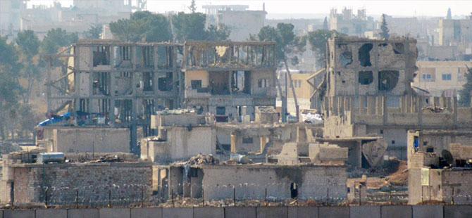 Kobani'de sessizlik, sınırda önlem