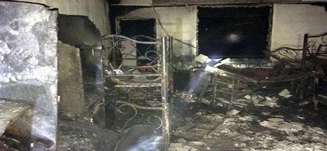 6 çocuğun yanarak öldüğü Kuran Kursu öğreticisi hakkında yakalama kararı