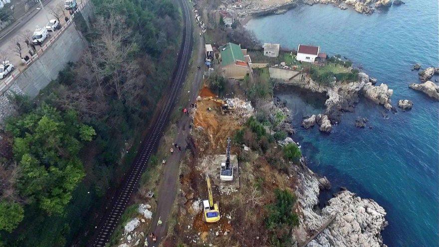 Zonguldak'ta 190 yapı için yıkım başladı