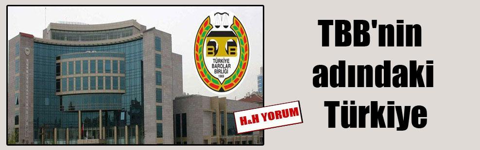 TBB'nin adındaki Türkiye