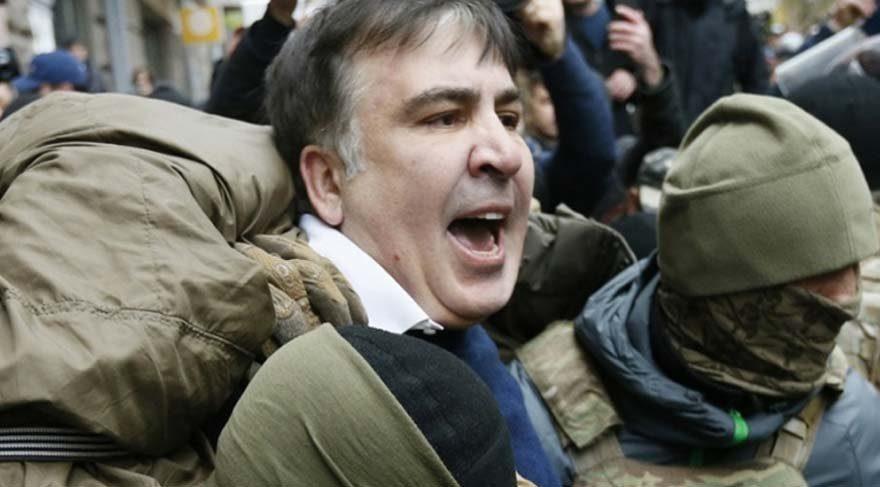 Gözaltına alınan Saakaşvili için flaş karar