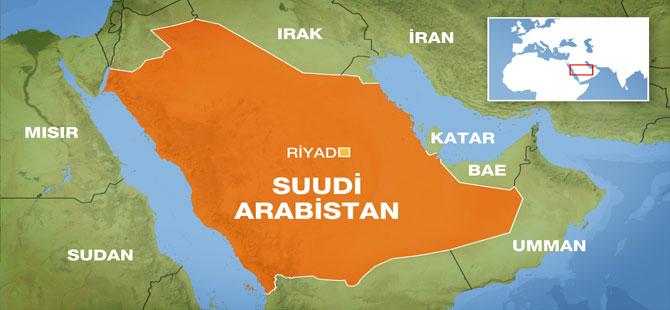 Suudi Arabistan'ın başkenti Riyad'da patlama sesleri