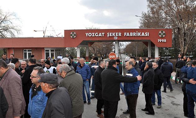 CHP'li vekiller 'şeker fabrikası' için Yozgat'ta