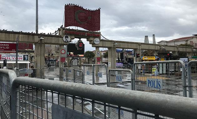 Bakırköy'de '8 Mart mitingi' için geniş güvenlik önlemleri
