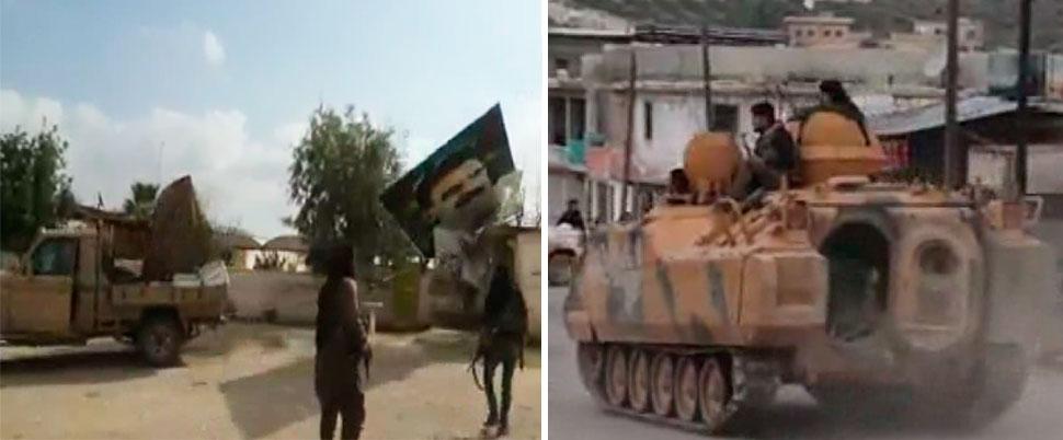 Afrin'e giden yolda 'Kuzey kilidi' açıldı