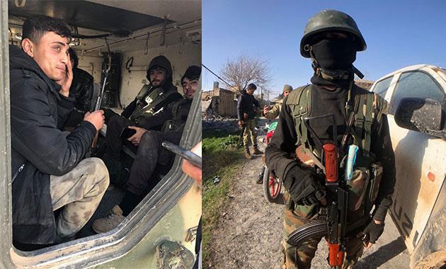 Afrin yolunda 3 köyde daha kontrol sağlandı