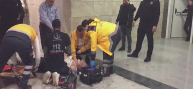 Karara tepki gösteren baba adliye koridorunda kalp krizi geçirerek öldü