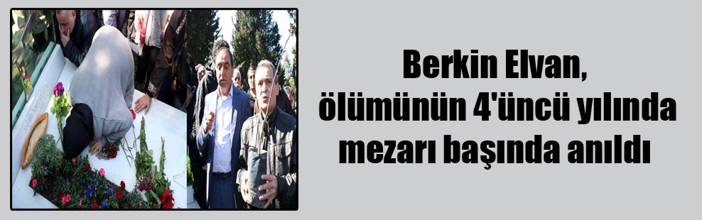 Berkin Elvan, ölümünün 4'üncü yılında mezarı başında anıldı