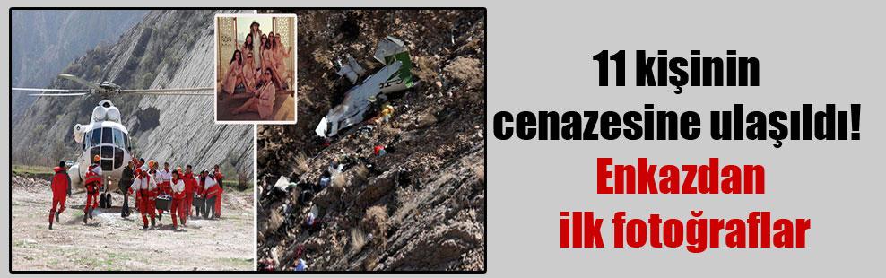 11 kişinin cenazesine ulaşıldı! Enkazdan ilk fotoğraflar