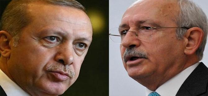 Erdoğan, Kılıçdaroğlu'na 500 bin TL'lik manevi tazminat davası açtı