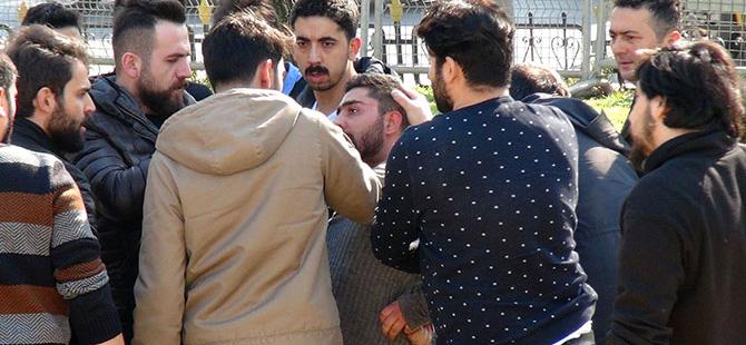 İstanbul Emniyet Müdürlüğü önünde hareketli dakikalar