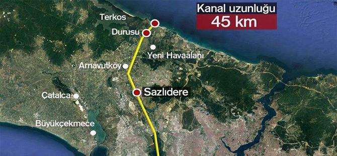 'Kanal İstanbul çılgınlığından vazgeçilmelidir'