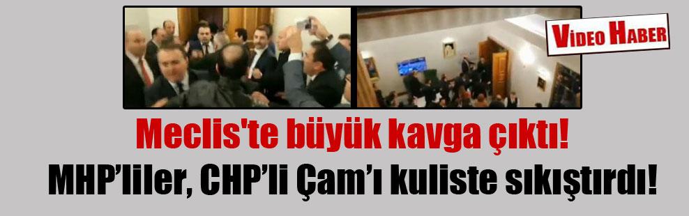 Meclis'te büyük kavga çıktı!
