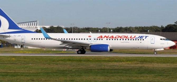Malatya'da uçağa biletsiz binen iki kişi gözaltına alındı