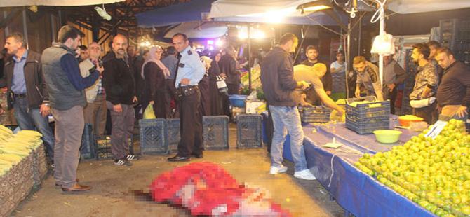 Mandalinayı beğenmeyince 2 pazarcıyı vuran emekli polise müebbet istemi