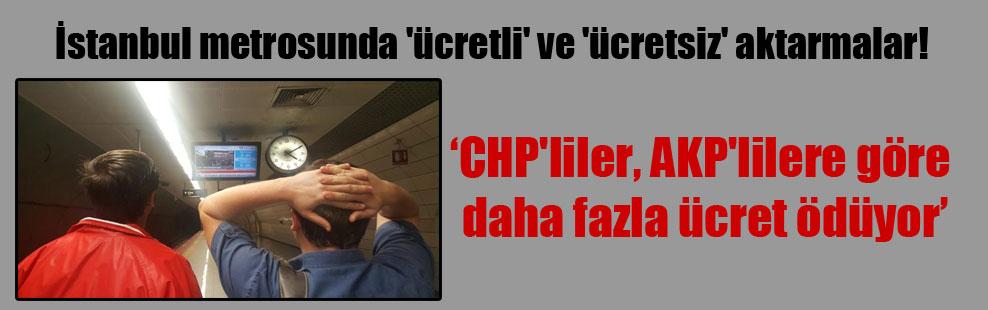 İstanbul metrosunda 'ücretli' ve 'ücretsiz' aktarmalar!