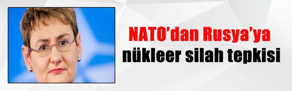NATO'dan Rusya'ya nükleer silah tepkisi