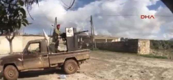 ÖSO Raco'ya girdi, şiddetli çatışmalar yaşanıyor