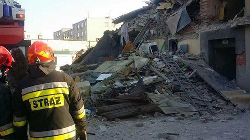 Polonya'da doğalgaz patlaması: Ölü ve yaralılar var