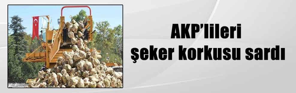 AKP'lileri şeker korkusu sardı