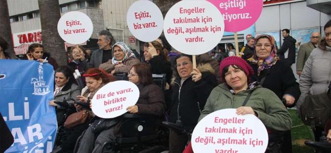Engelli kadınlardan cinsel istismar tepkisi