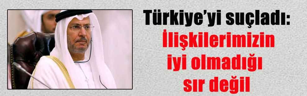 Türkiye'yi suçladı: İlişkilerimizin iyi olmadığı sır değil