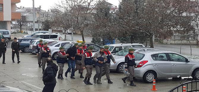 YHT yol bakım aracını iki kez soyan şüpheliler tutuklandı
