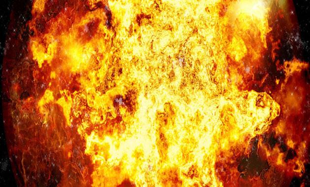 Moskova'da bir AVM'de yangın çıktı