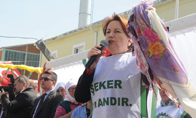 Meral Akşener: Özelleştirilen şeker fabrikalarını üreticilere vereceğiz