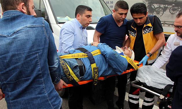 TEM'de takla atan otomobildeki 1 kişi öldü, 4 kişi yaralandı