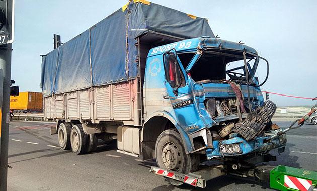 Hadımköy'de zincirleme kaza: 1'i ağır 2 yaralı