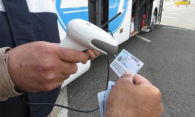 Jandarmadan, ilk kez barkod sistemiyle kimlik kontrolü