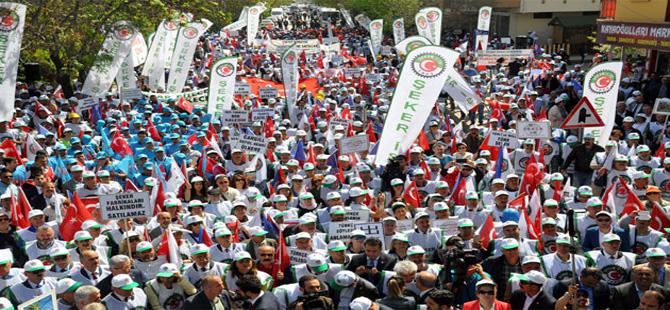 Ankara'da şeker eylemi!