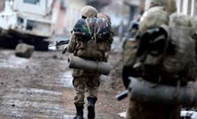 Bitlis'te EYP patladı: 1 asker şehit oldu