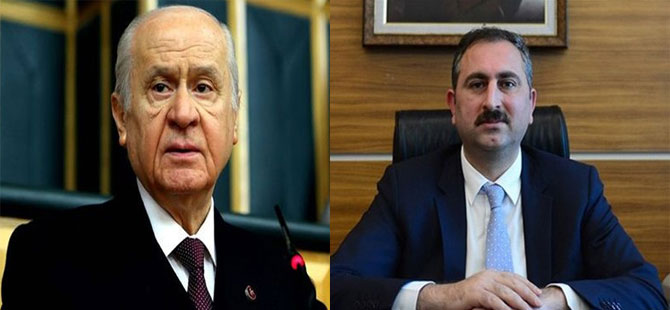 Bahçeli Adalet Bakanı Gül ile görüştü!