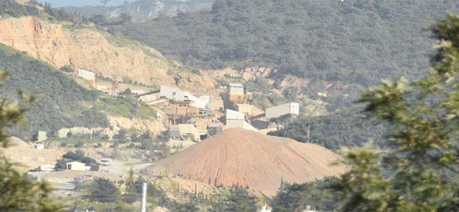 Bornova'da mıcır ve taş ocağı tepkisi