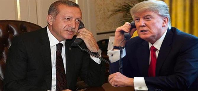 Erdoğan, Trump ile görüştü!  Beyaz Saray'dan açıklama geldi