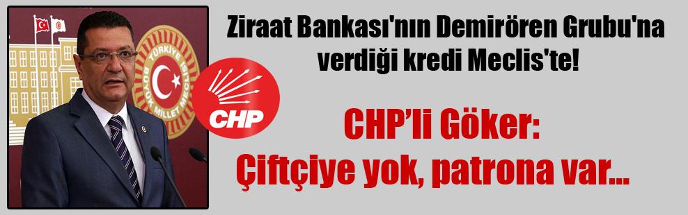 Ziraat Bankası'nın Demirören Grubu'na verdiği kredi Meclis'te!