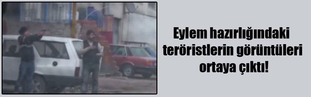 Eylem hazırlığındaki teröristlerin görüntüleri ortaya çıktı!